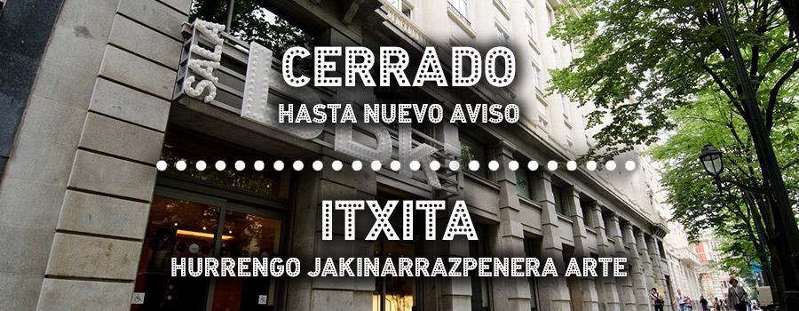 Sala BBK Cerrado Itxita
